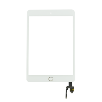 iPad Mini 3 Touch Digitizer With Home Button- White