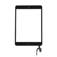 iPad Mini 3 Touch Digitizer With Home Button- Black
