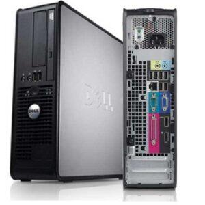 DELL 760 C2D 2GB RAM 160GB HDD WIN VISTA BUSINESS DVD