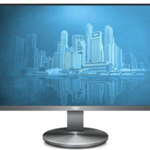 AOC i2790VQ 27″ IPS Business Monitor FHD VGA HDMI DP Frameless 4yr wty