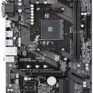 Gigabyte A320M-S2H mATX AM4 DDR4 Motherboard