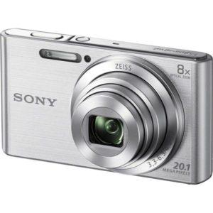 Sony DSC-W830B 20.1MP 8x Zoom Digital Camera Black