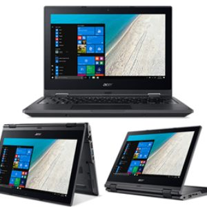 Acer TravelMate B118 11.6″ Touch N4200 4GB 128SSD W10Home Rugged 1yr