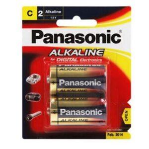 Panasonic C Alkaline Batteries 2