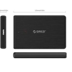 ORICO 2.5 INCH USB3.0 HARD DRIVE ENCLOSURE (2189U3) BLACK
