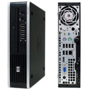 HP 8000 USFF C2D 4GB 160GB DVD WIN 7 PRO
