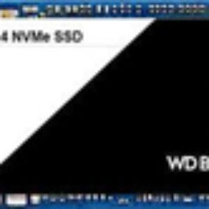WD Black PCIE M.2 2280 SSD 512GB