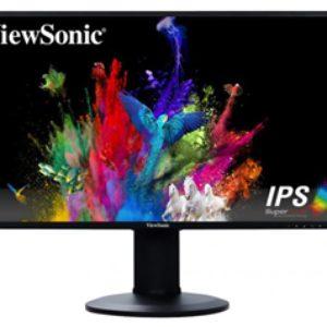ViewSonic VG2719-2k 27″ 2560×1440 QHD HDMI DP Monitor Ergonomic Stand