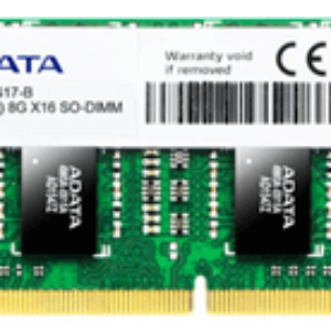 ADATA 8GB DDR3L-1600 PC3L-12800 1.35v SoDIMM Lifetime wty