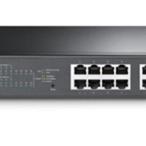 TP-Link SG1016PE 16 Port Gigabit Switch Easy Smart Rack Mount, 8x PoE+