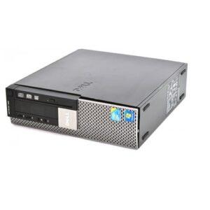 DELL 980 CORE I7 2.8GHZ 8GB RAM 500GB HDD 512 ATI 4550 DVD WIN 10 PRO ELU
