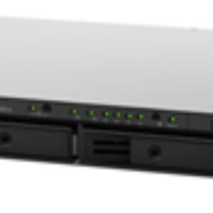 Synology RS816 4 Bay Armada-385 1.8GHz DC 1GB RAM 1U R/Mount NAS 3Yr