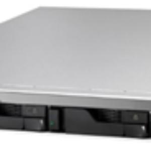Asustor AS6204RD 4 Bay Celeron 1.6GHz QC 4GB RAM 1U R/Mount NAS RPS 3Y