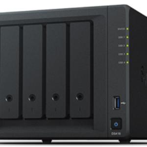Synology DS418 4 Bay Realtek RTD1296 1.4GHz QC 2GB RAM NAS