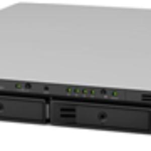 Synology RS818+ 4 Bay Atom 2.4GHz QC 2GB RAM 1U R/Mount NAS 3Yr Wty