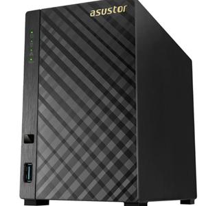 Asustor AS1002T v2 2 Bay Armada-385 1.6GHz DC 512MB RAM NAS 3Yr Wty