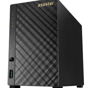 Asustor AS3102T v2 2 Bay Celeron 1.6GHz DC 2GB RAM NAS 3Yr Wty