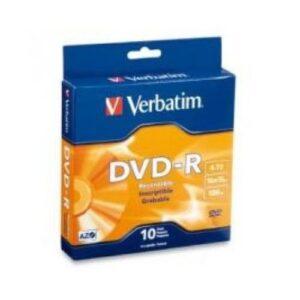 Verbatim DVD-R 4.7GB 16x 10 Pack on Spindle