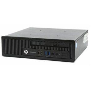 HP ELITEDESK 800 G1 USDT CORE i7@4770S 3.10GHz 8GB RAM 240GB SSD DVD W10P ELU