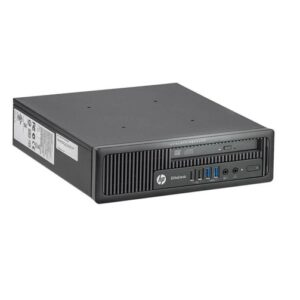 HP ELITEDESK 800 G1 USDT CORE i5@4670S 3.10GHz 8GB RAM 240GB SSD DVD W10P ELU