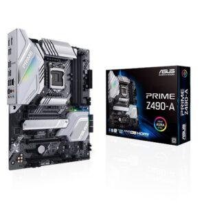 ASUS PRIME Z490-A INTEL LGA 1200 ATX DDR4 PCI-E USB3.2 M.2 HDMI/DISPLAY M/B