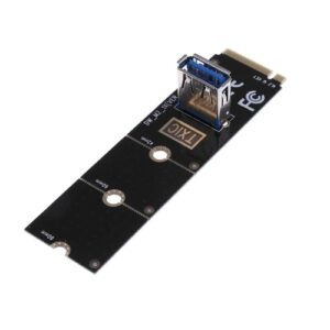 NGFF M.2 to USB3.0 Converter Adapter Graphic card Extender Card Mining